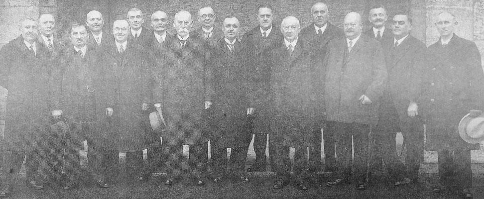 Schulkameraden von Präsident F.D. Roosevelt 1933, Foto: Beatrix van Ooyen, Sammlung Anne Marie Mörler, Digital im ONLINE-MUSEUM BAD NAUHEIM
