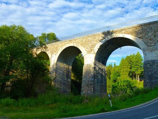 Viadukt des RAVel-Weg bei Reichenstein