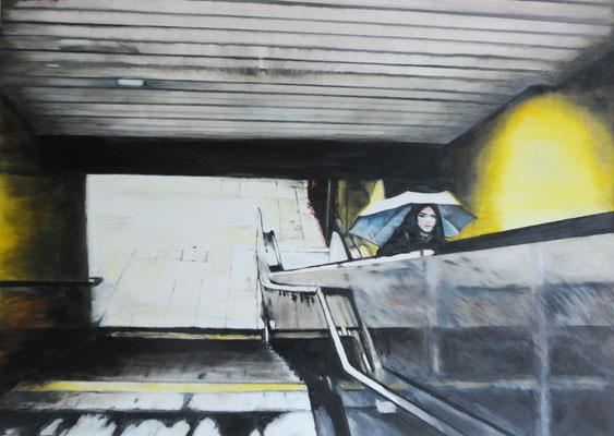 The Carrier    Öl auf Leinwand    50 x 70 cm