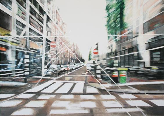 Fast Lane 100 x 140 cm