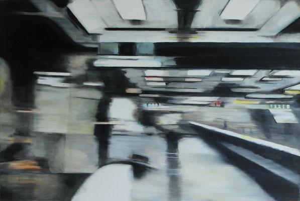 Motion    Öl auf Leinwand    40 x 60 cm