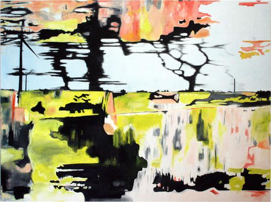 Kontext 2  2013   Öl auf Leinwand 120 x 160 cm