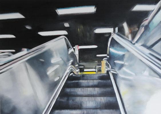 The View    Öl auf Leinwand    50 x 70 cm