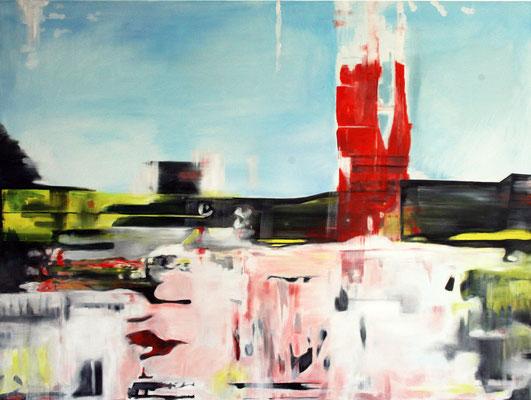 Kontext 1  2013   Öl auf Leinwand 120 x 160 cm