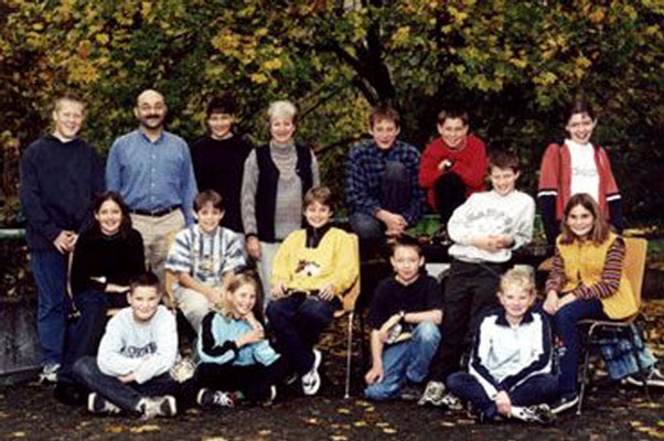 Klassenfoto 2000/01