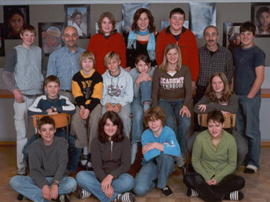 Klassenfoto 2006/07