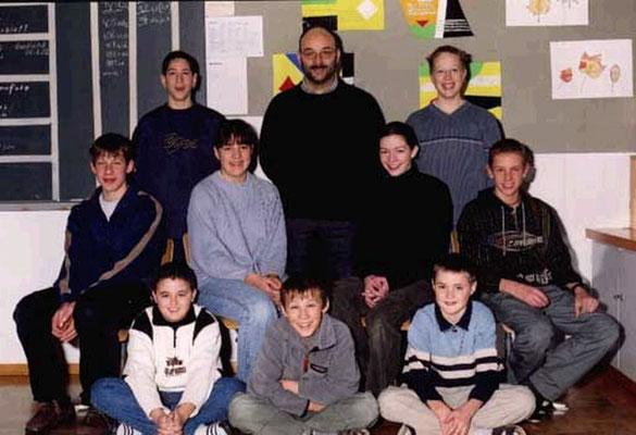 Klassenfoto 2001/02