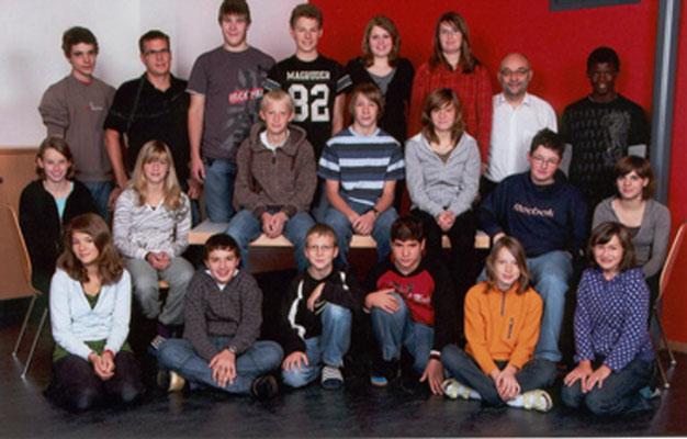 Klassenfoto 2008/09 2. Foto
