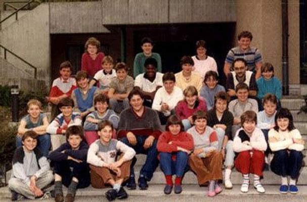 Klassenfoto 1986/87