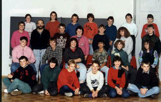 Klassenfoto 1990/91