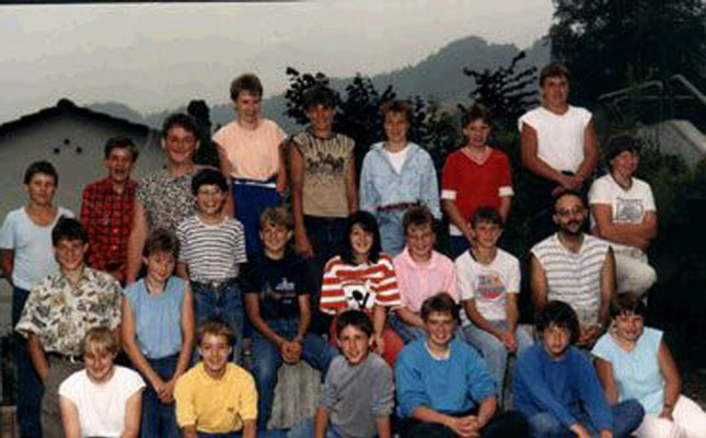 Klassenfoto 1987/88
