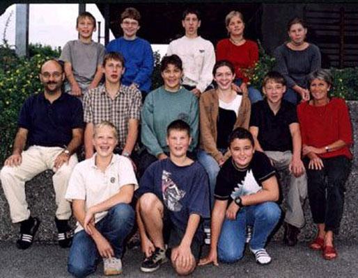 Klassenfoto 2002/03