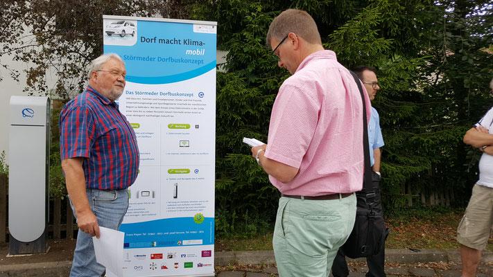 Die Presse zeigt sich interessiert an dem Mobilitätsprojekt