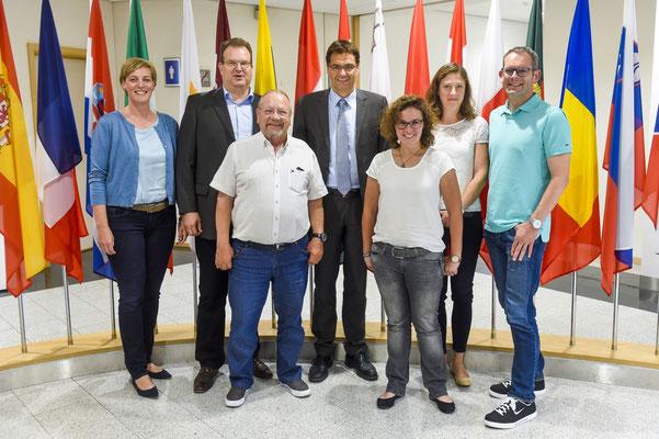 Dr. Peter Liese mit den Vertretern aus dem Kreis Soest