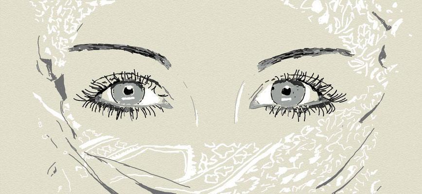 """""""Schönheit"""", 2014, digitale Zeichnung"""