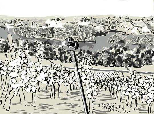 """""""Arbeit"""", 2014, digitale Zeichnung"""