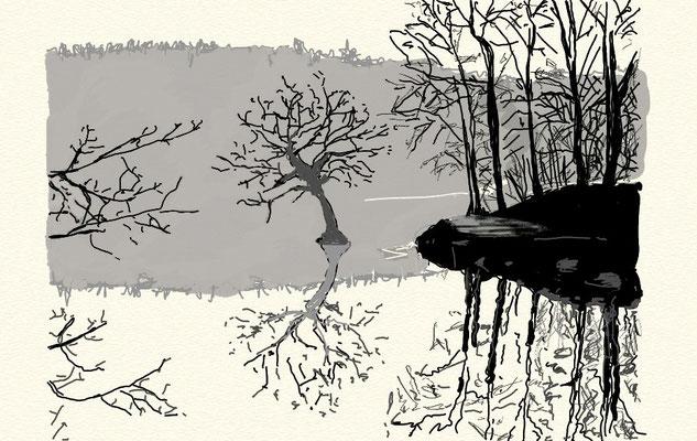 """""""Klarheit"""", 2014, digitale Zeichnung"""