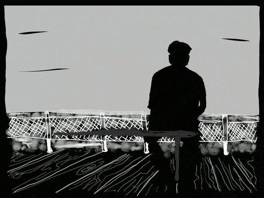 """""""Weisheit"""", 2014, digitale Zeichnung"""