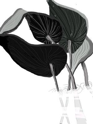 """""""Träume"""", 2014, digitale Zeichnung"""