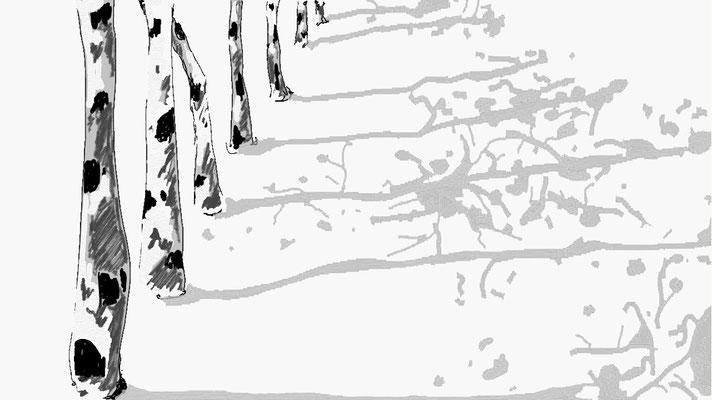 """""""Familie"""", 2014, digitale Zeichnung"""
