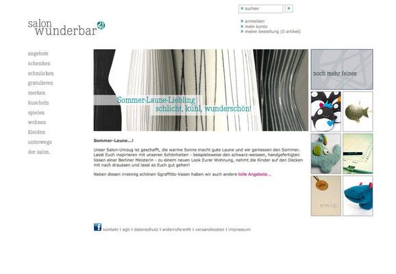 Webseite (Startseite)