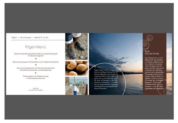 Broschüre A5, Doppelseite