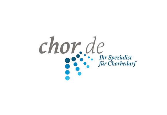 Onlineshop für Chorbedarf