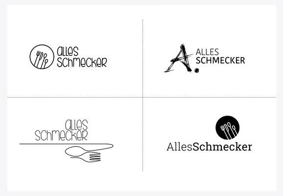 Präsentation der Logo-Varianten