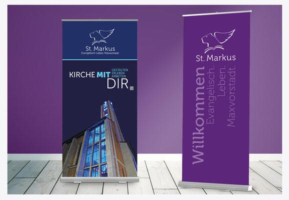 Banner für Veranstaltungen