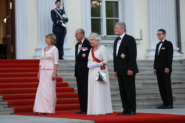 Queen Elizabeth II. zu Besuch beim Bundespräsidenten in Berlin