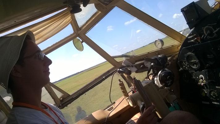Me on teh Antonov AN2