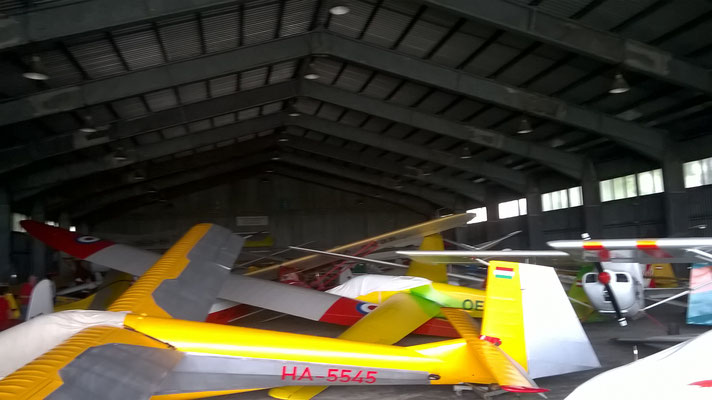 Crowdy hangar