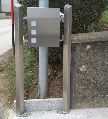 Postkastenständer