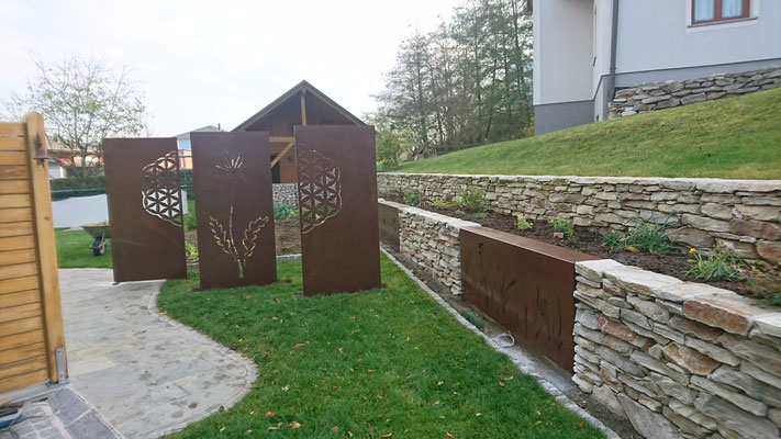 Design Garten Dammerer Metall Handwerkdesign