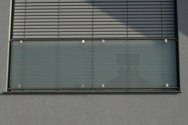 Französischer Balkon aus Glas