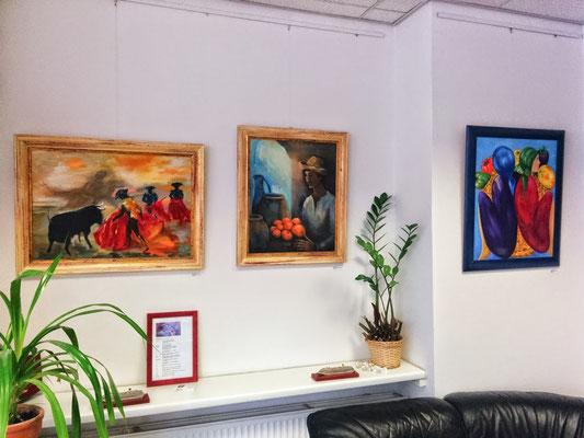 Personalausstellung im TUI-Reisecenter Berlin-Friedrichshagen