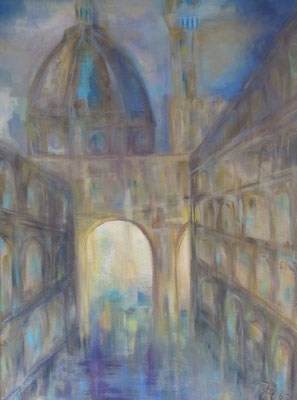 Florenz [Acryllasur auf Leinwand, 70x50 cm] © Ingrid Achsel