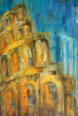 Rom [Acryl auf Leinwand, 70x50cm] © Ingrid Achsel