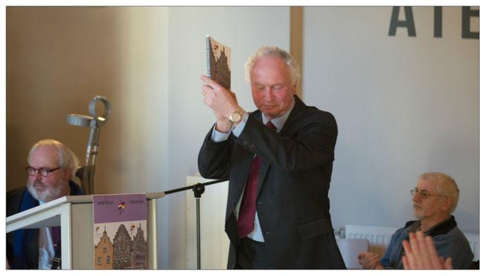 Hans van de Mortel, directeur van het museum en stadsarchivaris