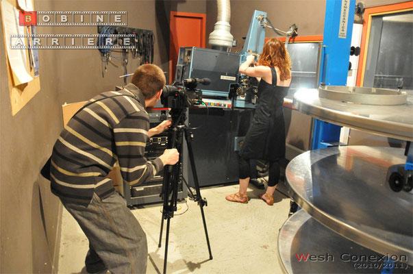 Bobine Arrière - les photos du tournage