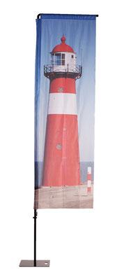 Beachflag Square mit individuellem Aufdruck erhältlich