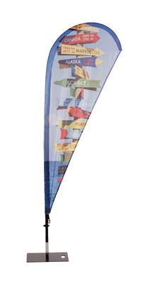 Beachflag Drop mit individuellem Aufdruck erhältlich