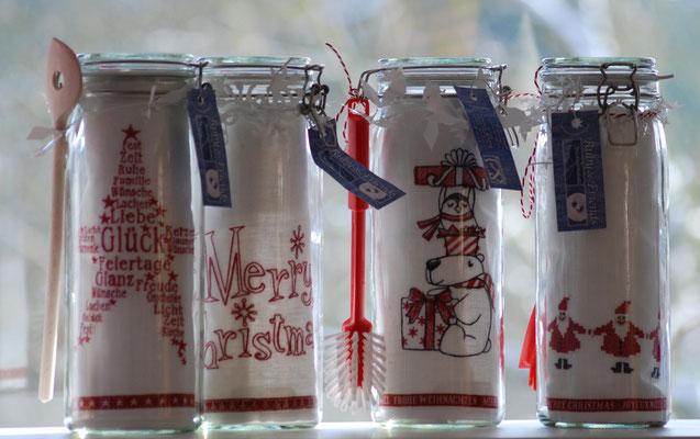 Geschenkgläser Weihnachten