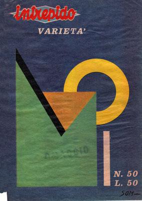 Copertina intrepido - novembre 63
