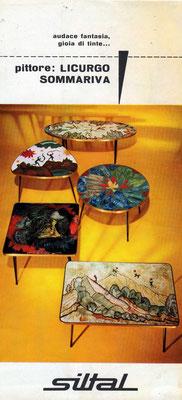 Tavolini Siltal - 1966