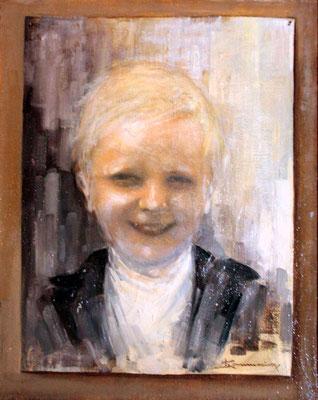 Ritratto di Vanna - Proprietà di C. Ferrario - olio su tela