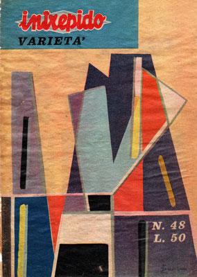 Copertina Intrepido - settembre 63