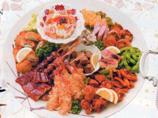 1. パーティーなどのオードブルやパーティー料理もございます。