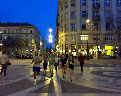 Budapest, Running Guide, City Guide, Run My City, run to discover, run to explore