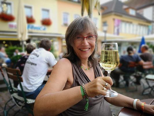 an der Weinstrasse wird auch gelacht